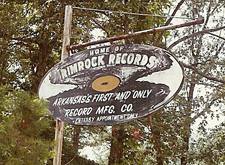 Wayne Raney's Rimrock Records sign