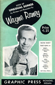 Wayne Raney's Book of Unusual Songs