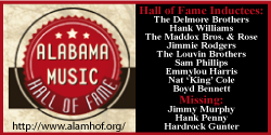 Alabama Music Hall of Fame site