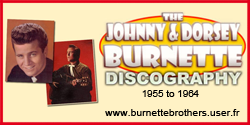 Johnny Burnette site