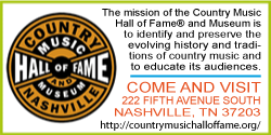Site du Country Music Hall of Fame