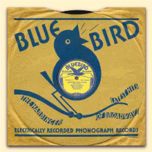 Delmore Brothers Bluebird sleeve