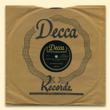 Delmore Brothers Decca sleeve