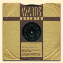 Delmore Brothers Montgomery Ward sleeve