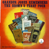 Grandpa Jones' tribute LP to Delmore Brothers