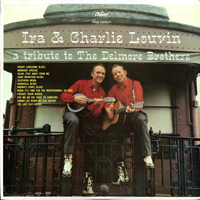 Louvin Brothers' tribute LP to Delmore Brothers